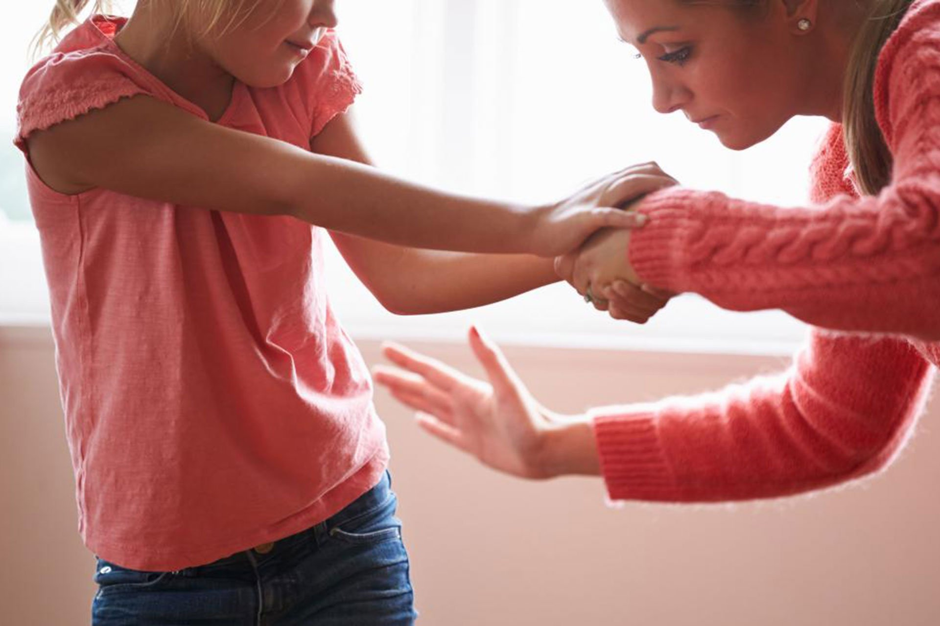 Able Training Foster carers learn physical intervention techniques